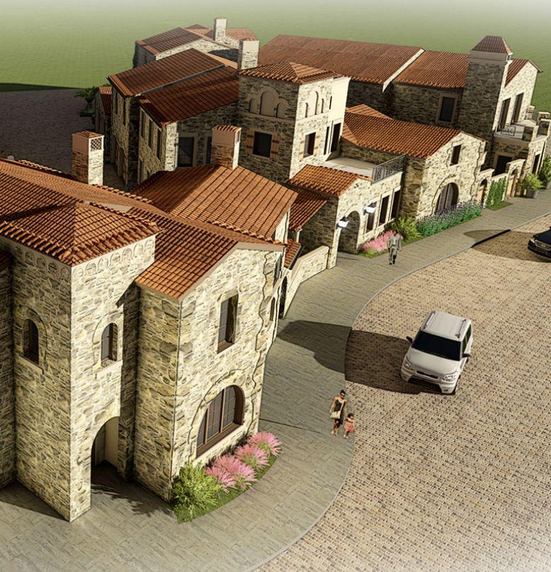 Luxury Patio Casita Homes Live Entrada